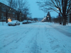 Dangerous for drivers and/or pedestrians, a nuisance for plow truck drivers, and just misery in general.