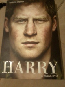 I'll tell you all in a further post, but for now, just know that I really like Prince Harry.
