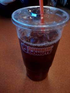 And for bringing Dunkin' :)