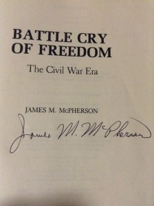 He was kind enough to sign my book as well as take a picture!