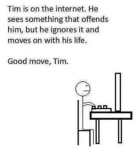 Be like Tim, and use social media wisely. Image via http://i.imgur.com/j6pFFtM.jpg